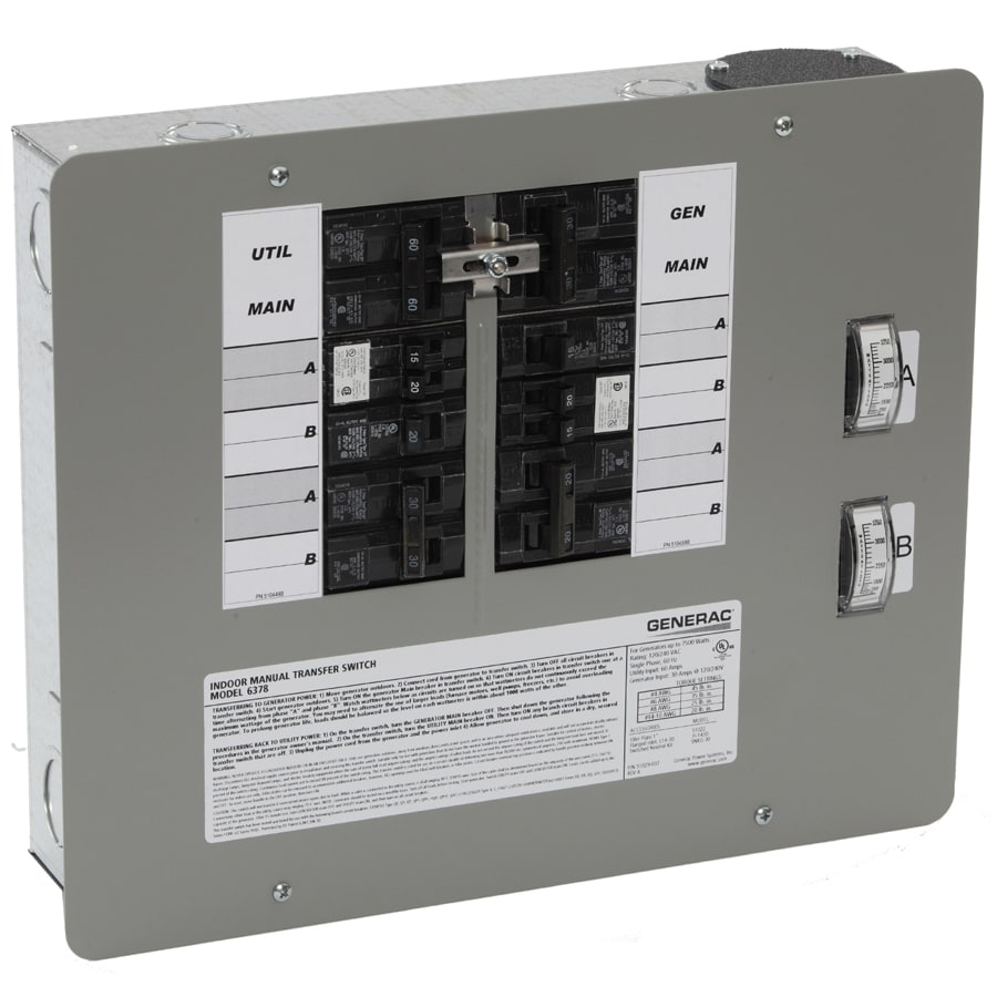 Generac 30-Amp Indoor Circuit Transfer Switch