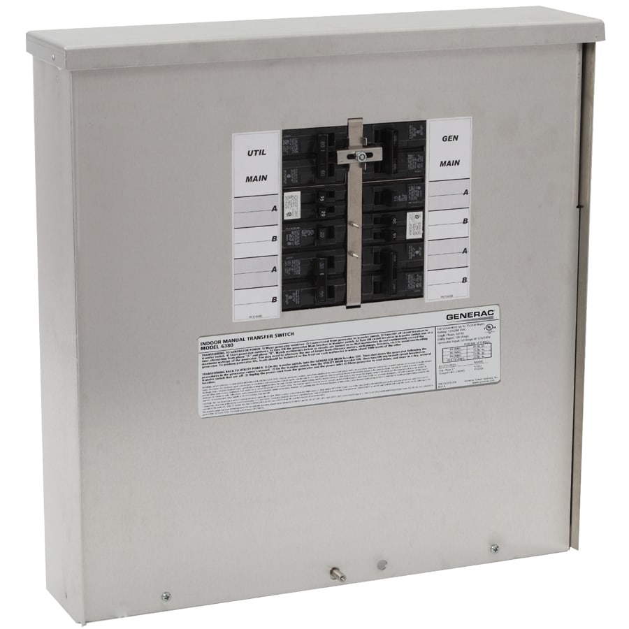 Generac 30-Amp 10-Circuit Transfer Switch