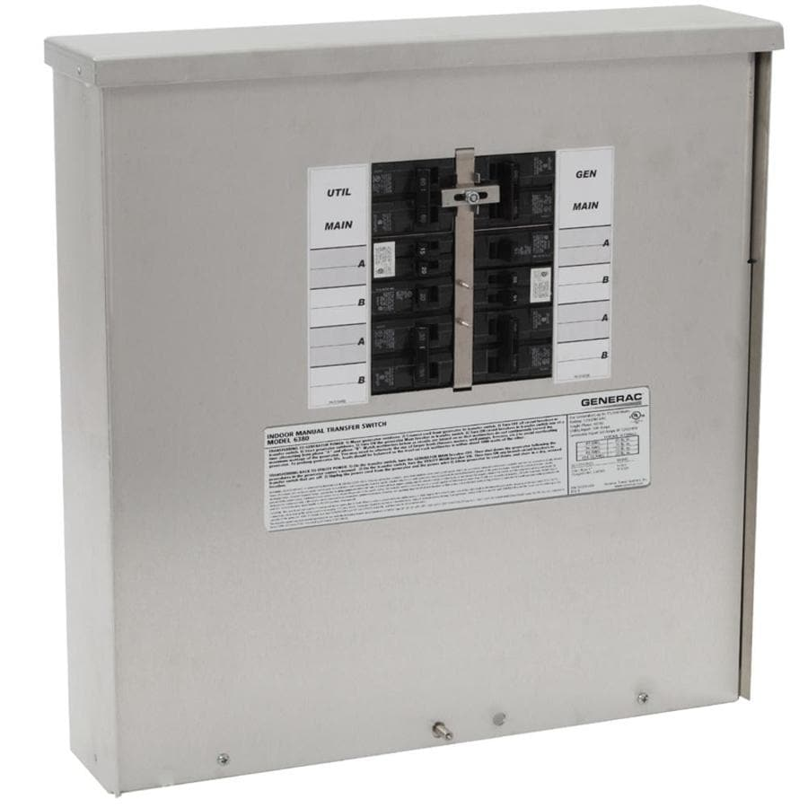 shop generac 200 amp manual transfer switch at lowes com generac manual transfer switch wiring diagram wiring diagram transfer switches for generators