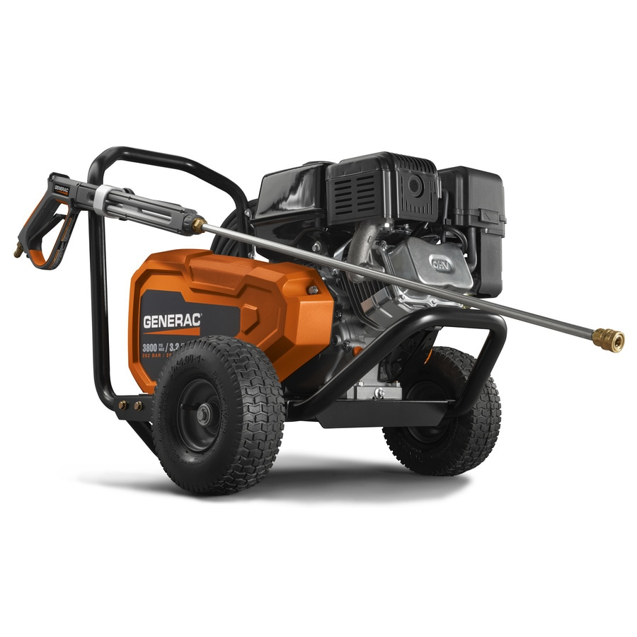 Generac 3800-PSI 3.2-GPM Cold Water Gas Pressure Washer
