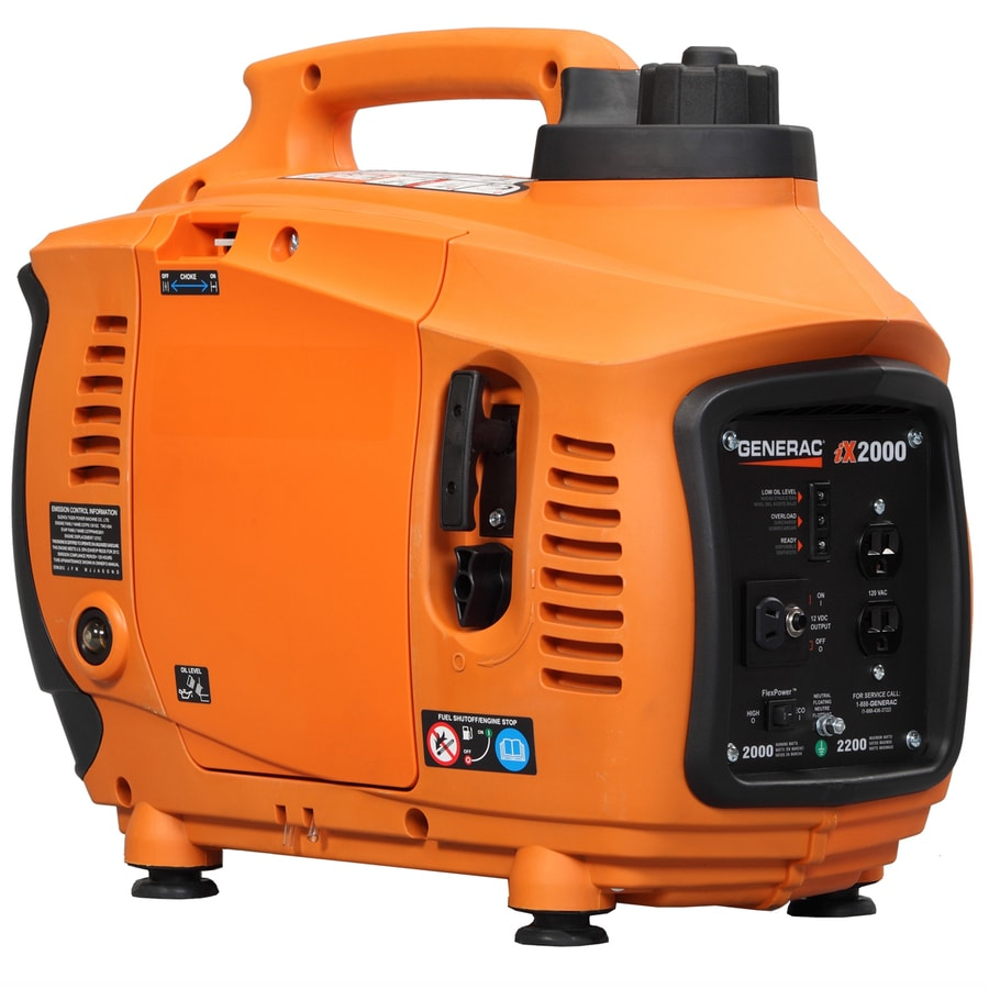 Generac iX 2000-Running-Watt Inverter Portable Generator with Generac Engine