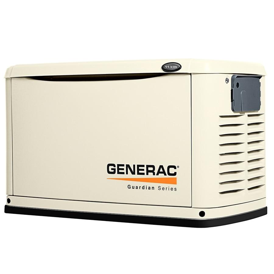 Generac Guardian 11000 Watt Lp 10000 Watt Ng Standby