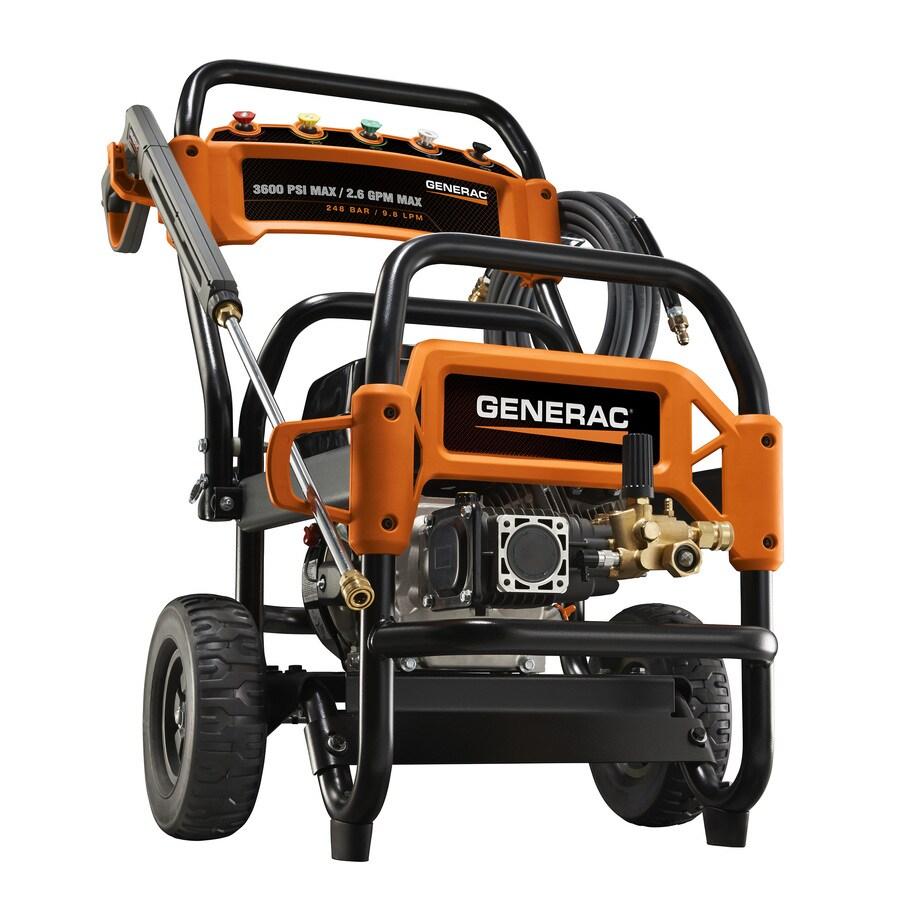 Generac 3600-PSI 2.6-GPM Cold Water Gas Pressure Washer