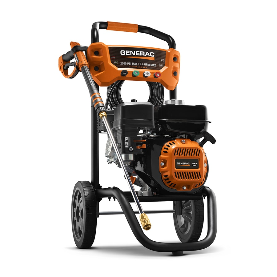 Generac Residential 2500-PSI 2.4-GPM Cold Water Gas Pressure Washer CARB Compliant