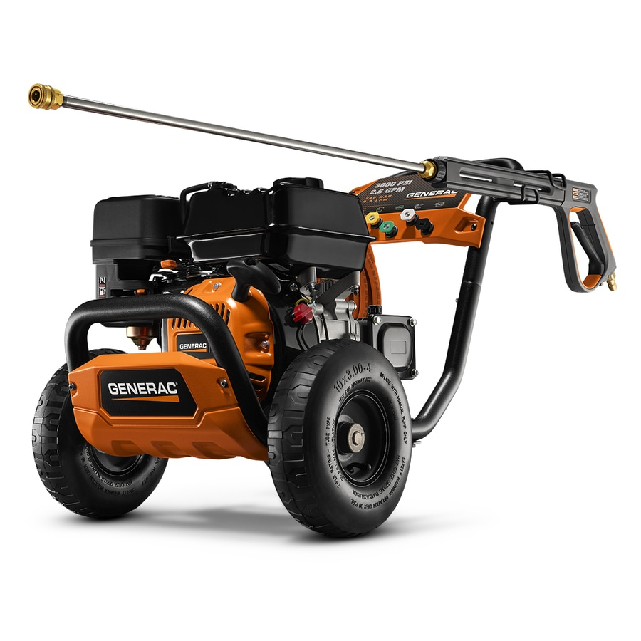 Generac Commercial 3600-PSI 2.6-GPM Cold Water Gas Pressure Washer