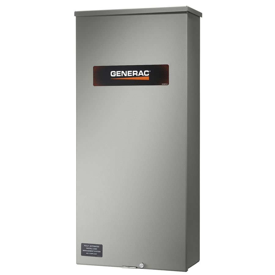 Shop Generac Service Entrance Rated 100 Amp Single-Phase Automatic ...