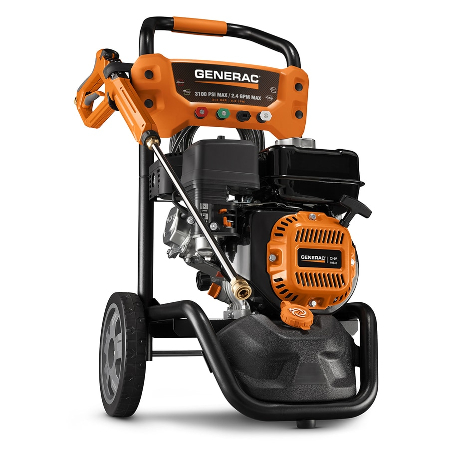 Generac Residential 3100-PSI One Wash 2.4-GPM Gas Pressure Washer CARB