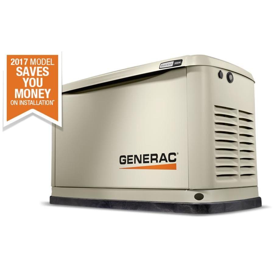 Generac Guardian 20,000-Watt (LP)/18,000-Watt (NG) Standby Generator