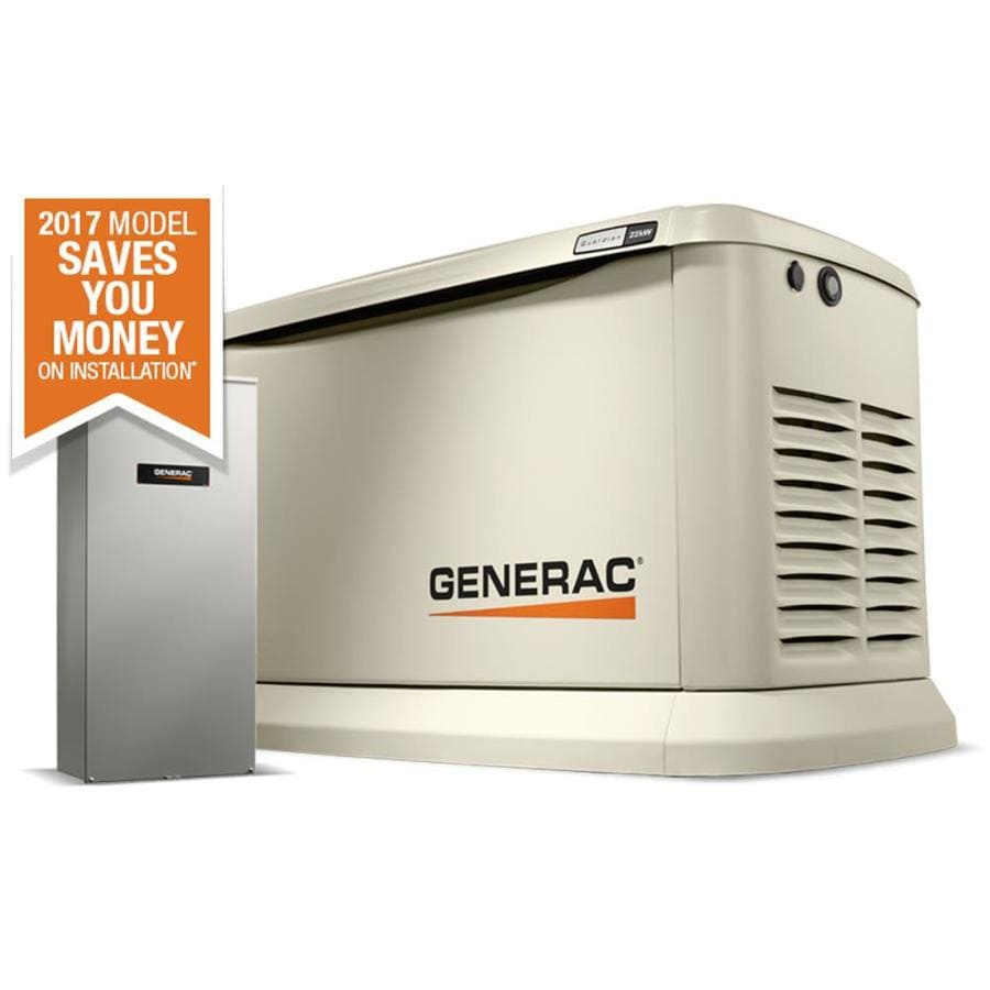 Shop Generac Guardian 22000 Watt Lp 19500 Ng Standby How To Wire An Automatic Transfer Switch