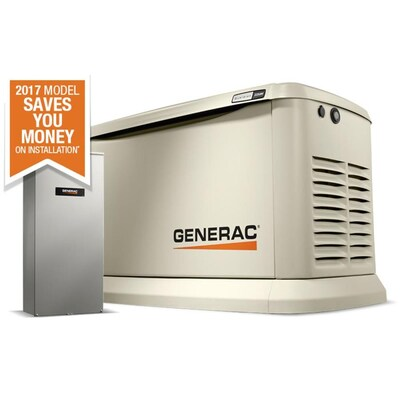 Guardian 22,000-Watt (LP)/19,500-Watt (NG) Standby Generator with Automatic on