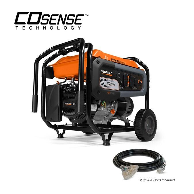 Generac GP 8125-Watt Gasoline Portable Generator