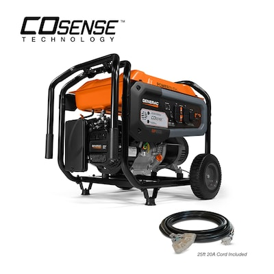 Generac 6500-Running-Watt Gasoline Portable Generator at