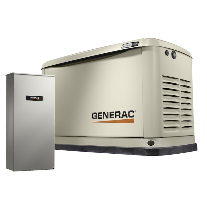 Generac Guardian Series WIFI Enabled 22000-Watt (LP) / 19500-Watt (NG) Standby Generator with Automatic Transfer Switch
