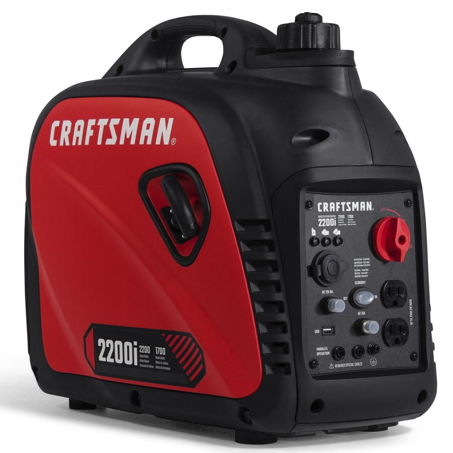 CRAFTSMAN CMXGIAC2200 2200-Watt Inverter Gasoline Portable Generator