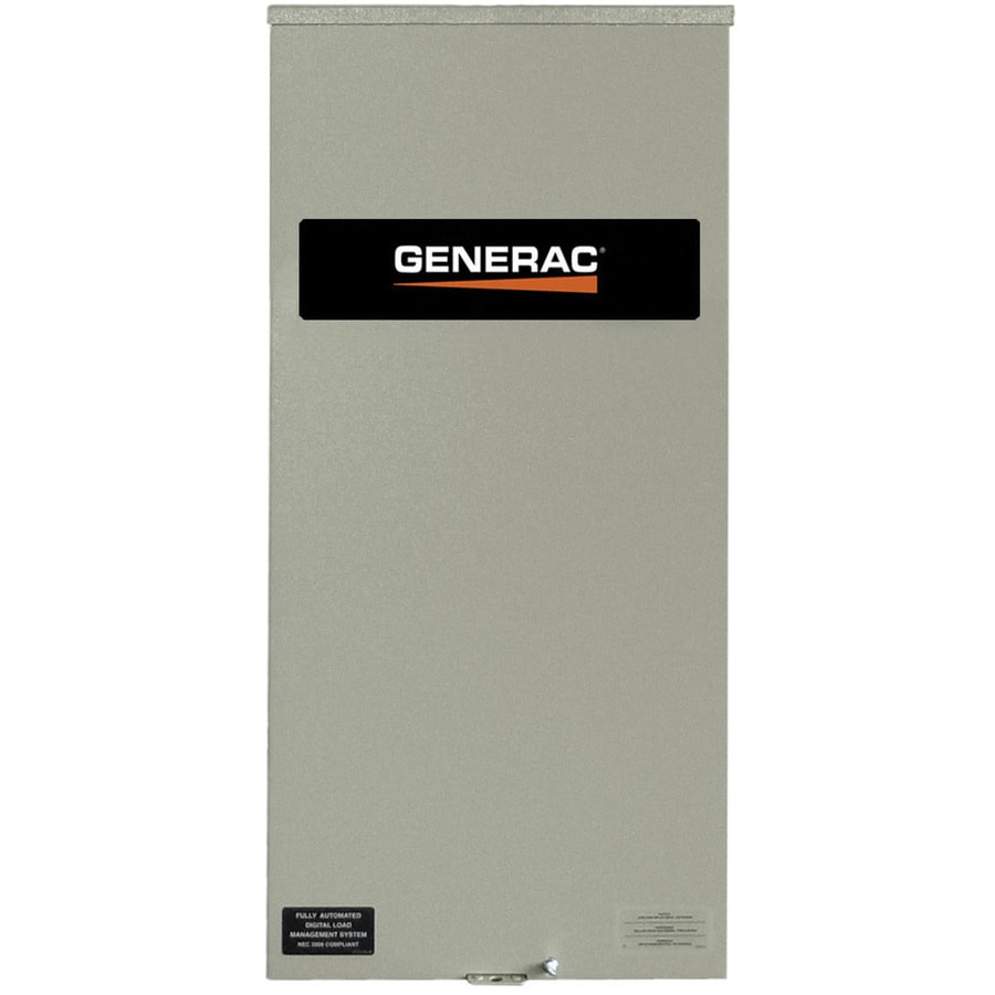 Generac 200-Amp Service Rated Transfer Switch