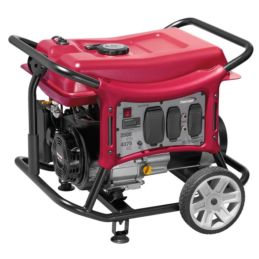 Powermate CX 3500-Running-Watt Portable Generator with Powermate Engine