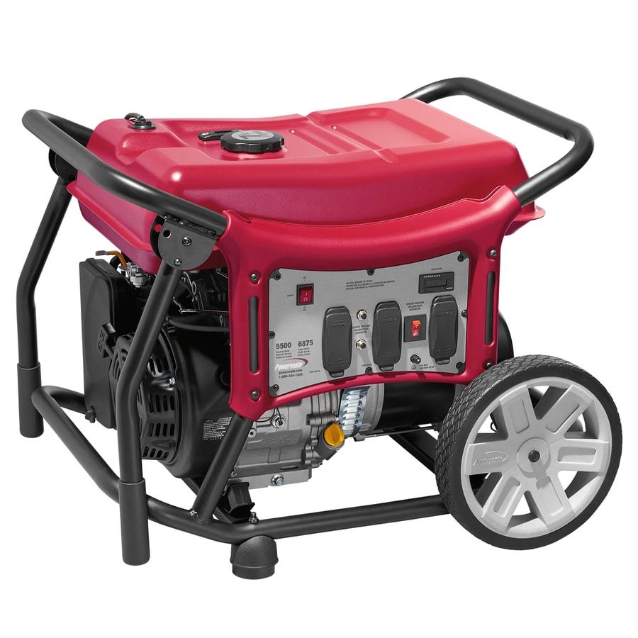 Powermate CX 5500-Running-Watt Portable Generator with Powermate Engine