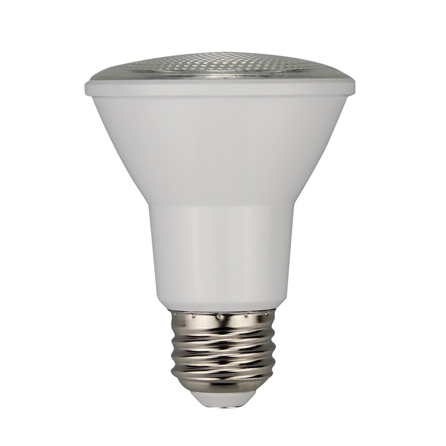 Utilitech 50 W Equivalent Dimmable Warm White PAR20 LED Light Fixture Light Bulb