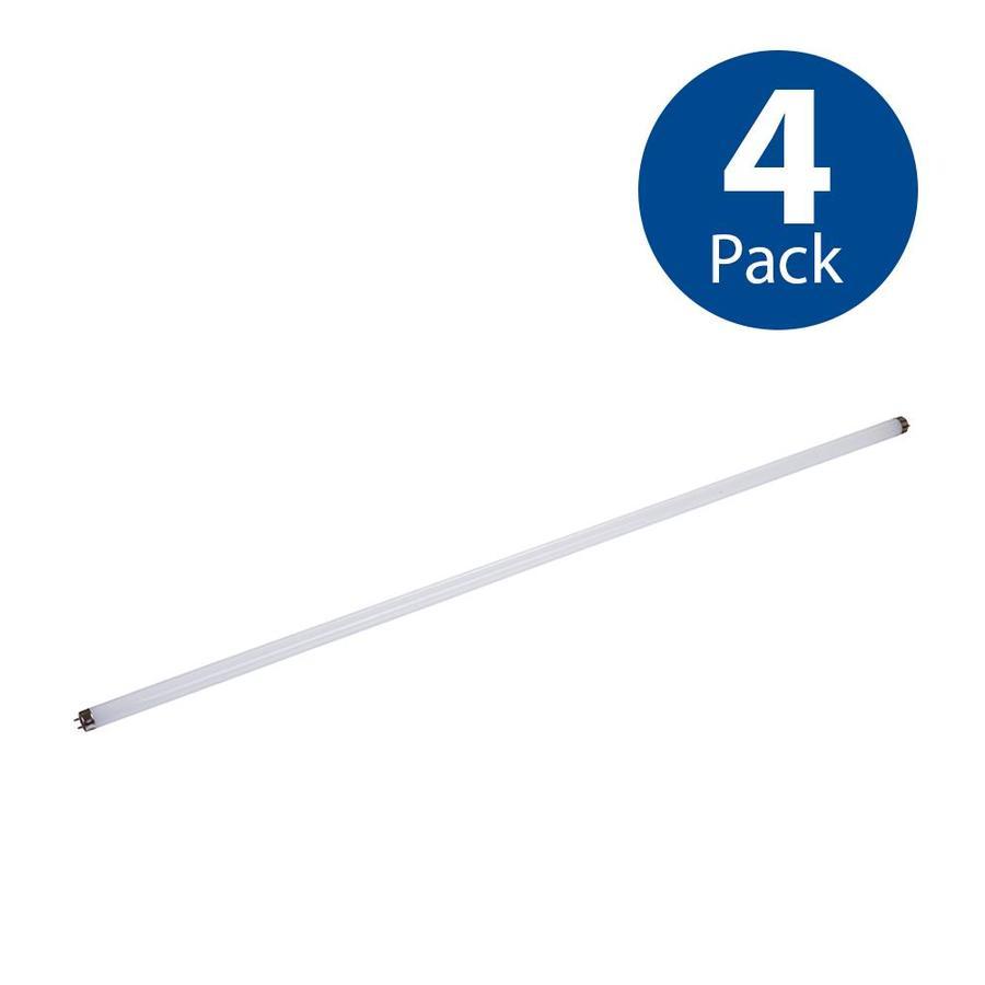 Utilitech 4-Pack 32W Equivalent Daylight T8 LED Tube Light Bulb