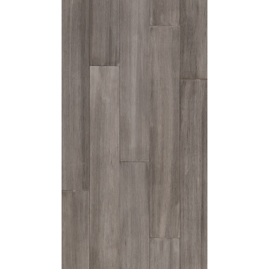 Style Selections Bamboo Hardwood Flooring Sample Gray At