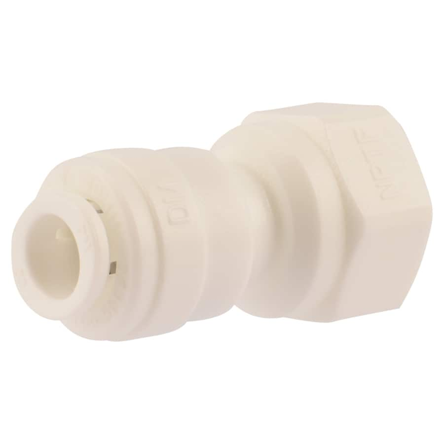 SharkBite 1/4-in Push-to-Connect x 1/4-in OD FIP Female Adapter Push Fitting