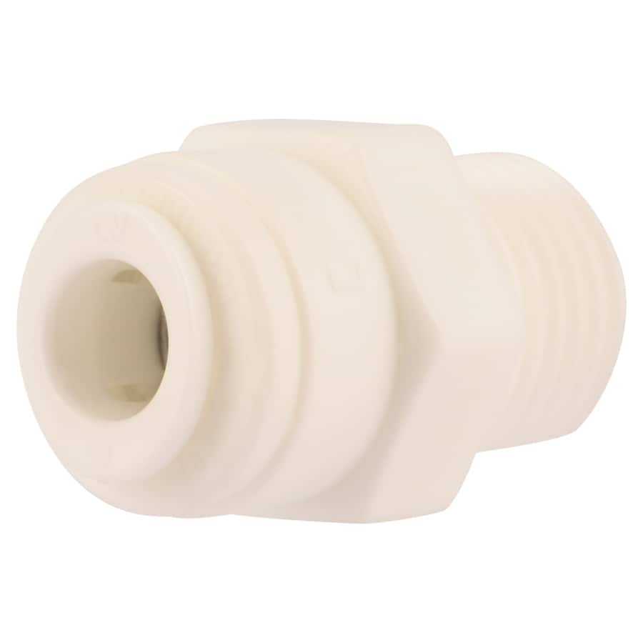 SharkBite 1/4-in Push-to-Connect x 1/4-in OD MIP Male Adapter Push Fitting