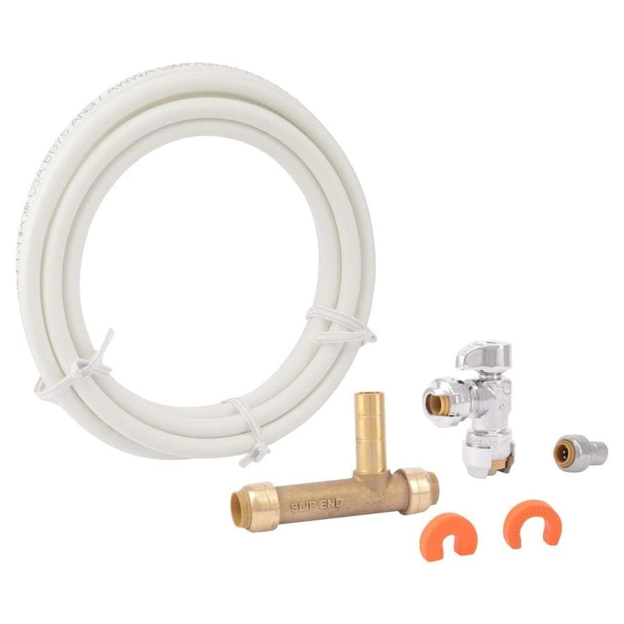 Shop sharkbite 10 ft l 1 2 in inlet x 1 4 in o d for Using pex for drain lines
