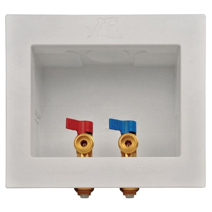 Sharkbite Quarter Turn Ball Valve Push To Connect Washing Machine Outlet Box