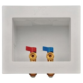 Eastman 60245 1//2-in PEX Dual Outlet Washing Machine Box