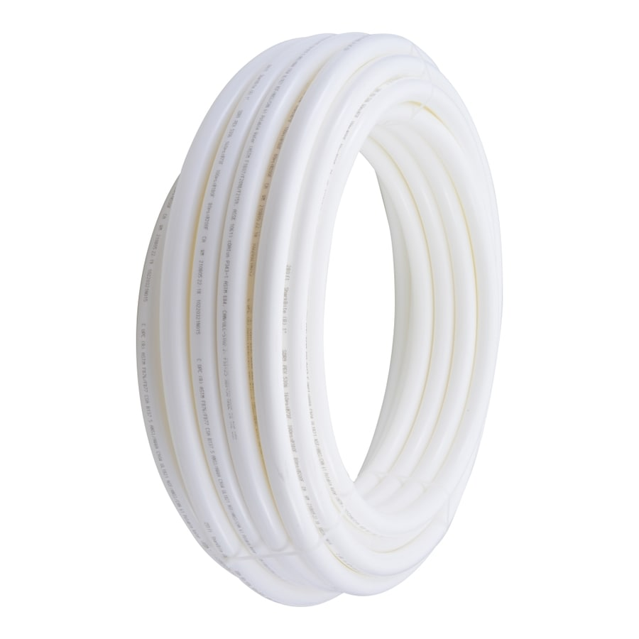 SharkBite 1-in x 100-ft PEX Pipe Corrosion And Freeze-resistant White
