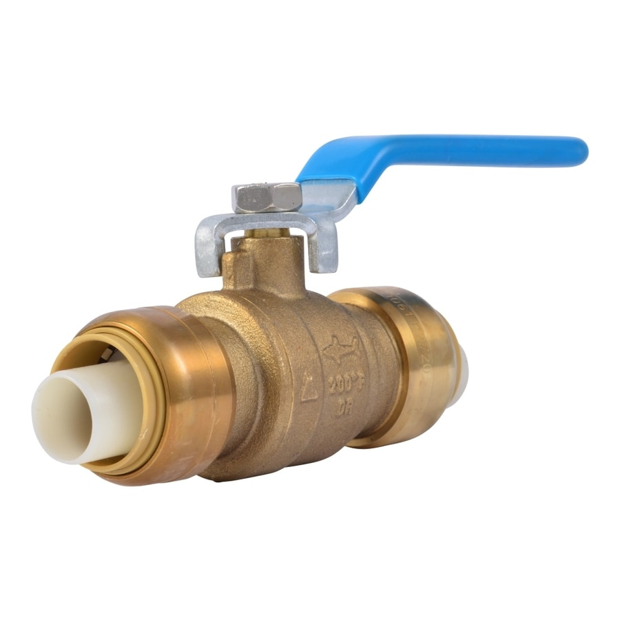 Shop Sharkbite 3 4 In Dia Ball Valve Push Fitting At Lowes Com