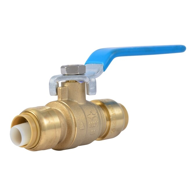 Sharkbite Brass 1 2 In Push To Connect Ball Valve In The Ball Valves Department At Lowes Com