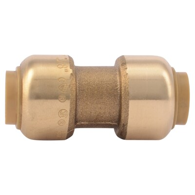 Push To Connect Fittings >> 3 8 In Push To Connect X 3 8 In Push To Connect Dia Coupling Push Fittings