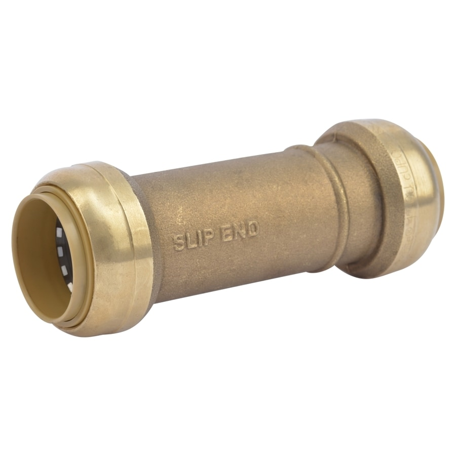 SharkBite 1-in Push-to-Connect x 1-in Slip Coupling Push Fitting