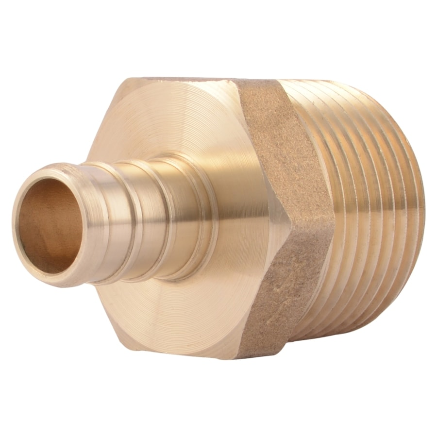 SharkBite 1/2-in dia Brass PEX Male Adapter Crimp Fitting