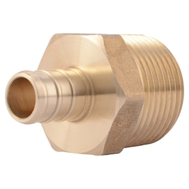 """New 3//4/"""" x 3//4/"""" x 1//2/"""" PEX BRASS LEAD FREE TEES Fitting Waterline Connector 25"""