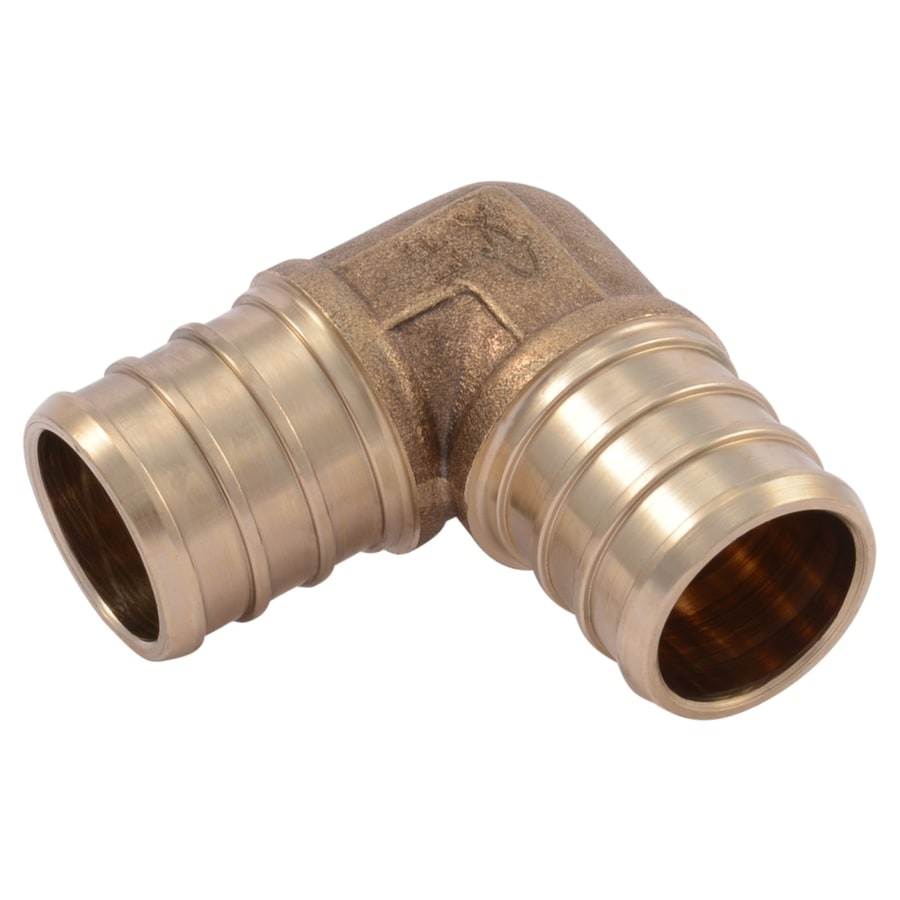 Sharkbite 3 4 In Dia Brass Pex Elbow Crimp Fitting At