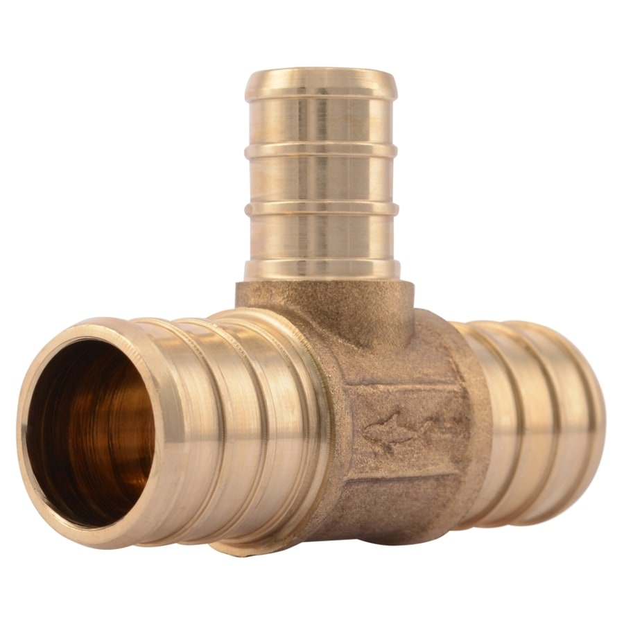 SharkBite 3/4-in dia Brass PEX Tee Crimp Fitting