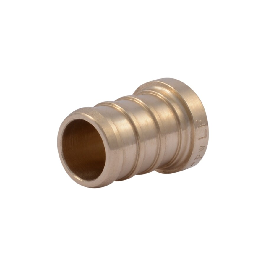 SharkBite 5-Pack 1/2-in dia Brass PEX Test Plug Crimp Fitting