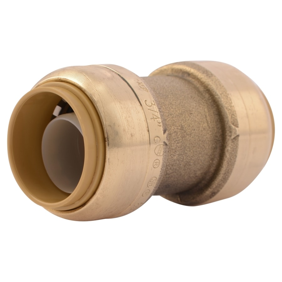 SharkBite 3/4-in Push-to-Connect x 3/4-in Push-to-Connect Coupling Push Fitting
