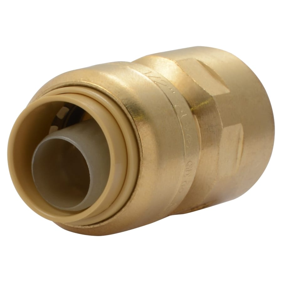 SharkBite 1/2-in Push-to-Connect x 1/2-in FNPT Female Adapter Push Fitting