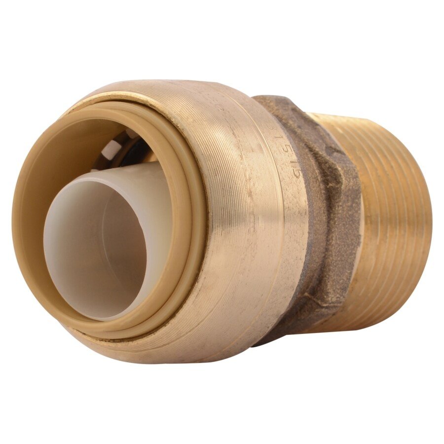 SharkBite 3/4-in Push-to-Connect x 3/4-in MNPT Male Adapter Push Fitting