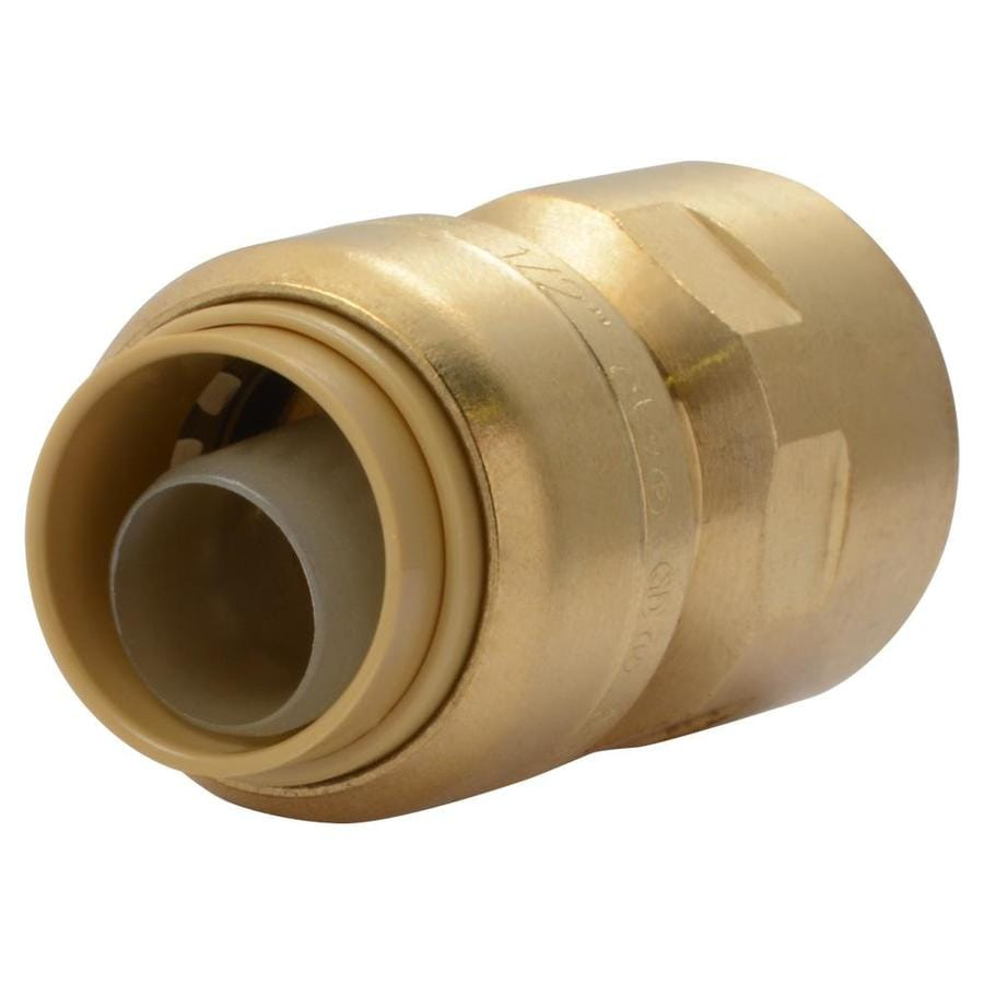 SharkBite 1/2-in x 1/2-in dia Female Adapter Push Fitting