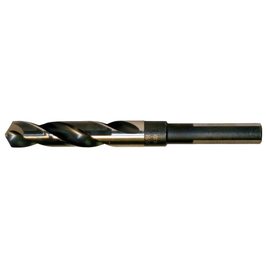 CLE-LINE 11/16-in High-Speed Steel Silver & Deming Twist Drill Bit