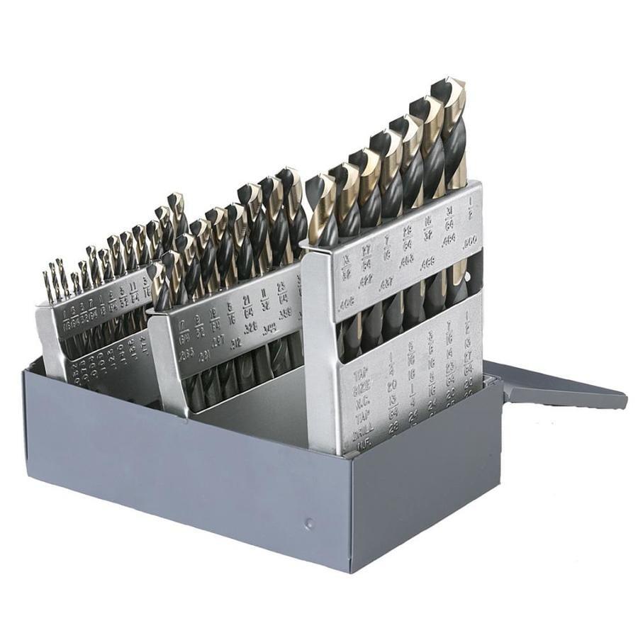 CLE-LINE 29-Pack High-Speed Steel Twist Drill Bit Set