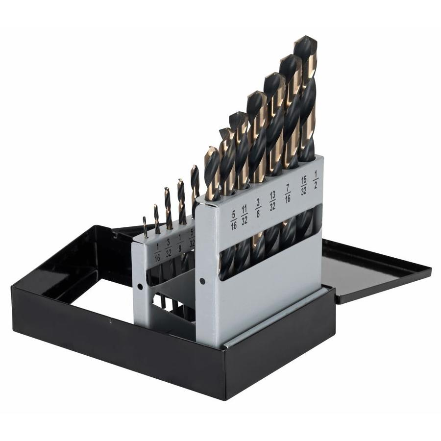 CLE-LINE High-Speed Steel Twist Drill Bit Set