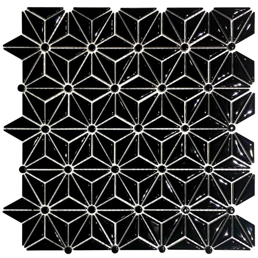 EPOCH Architectural Surfaces Black Ceramic Triangles