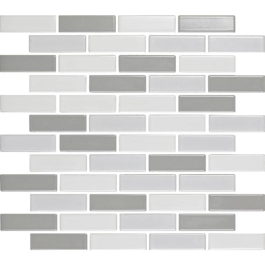 Shop Epoch Architectural Surfaces Multicolor Brick Mosaic Subway