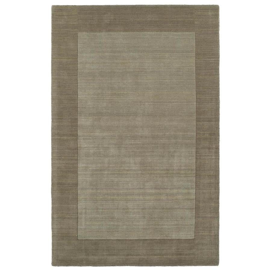 Kaleen Regency Taupe Indoor Handcrafted Oriental Area Rug (Common: 10 x 13; Actual: 9.5-ft W x 13-ft L)