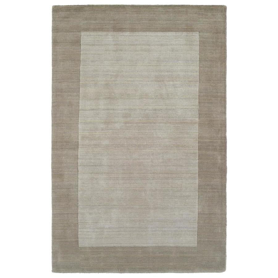 Kaleen Regency Ivory Indoor Handcrafted Oriental Area Rug (Common: 5 x 8; Actual: 5-ft W x 7.75-ft L)